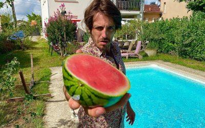 Mezerg Creates A Watermelon Piano And It Sounds Brilliant