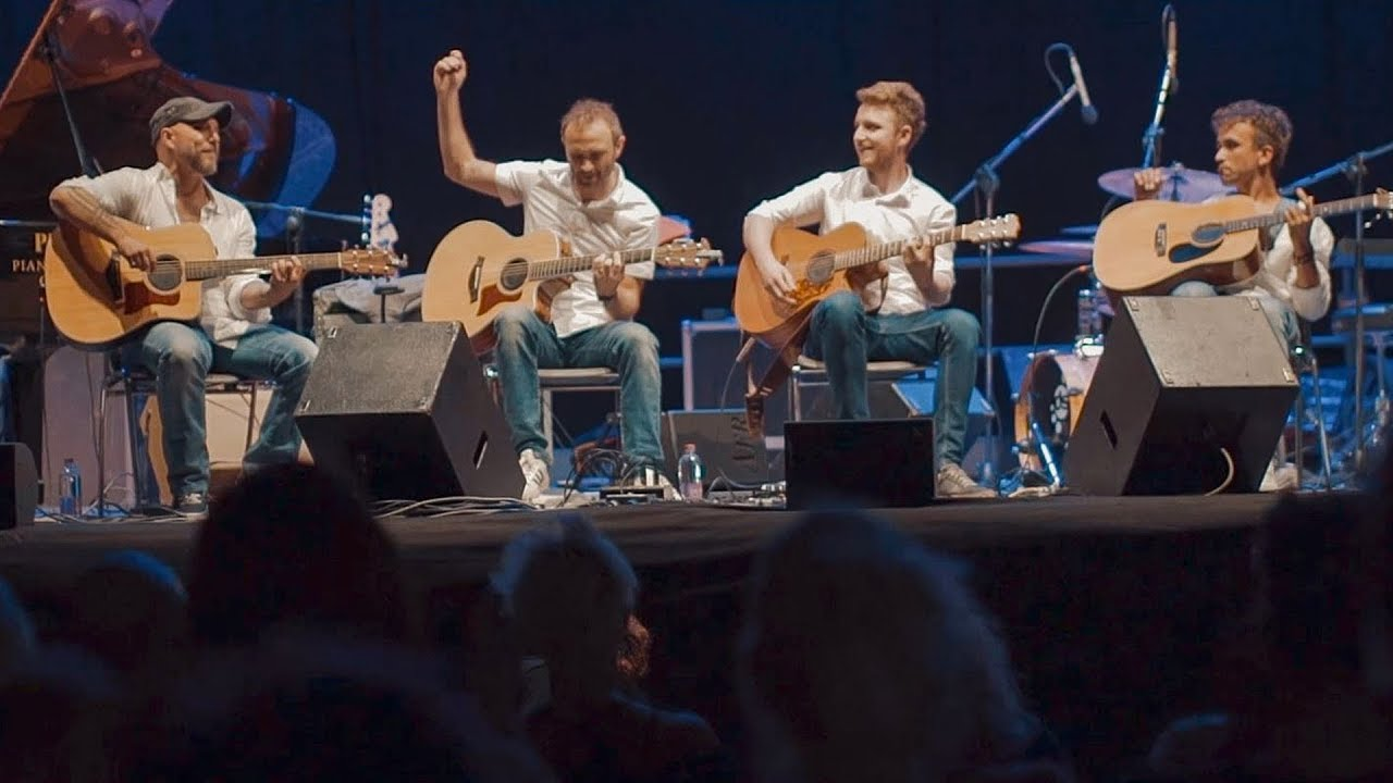 The Multi talented 40 Fingers Guitar Quartet from Italy   The ...