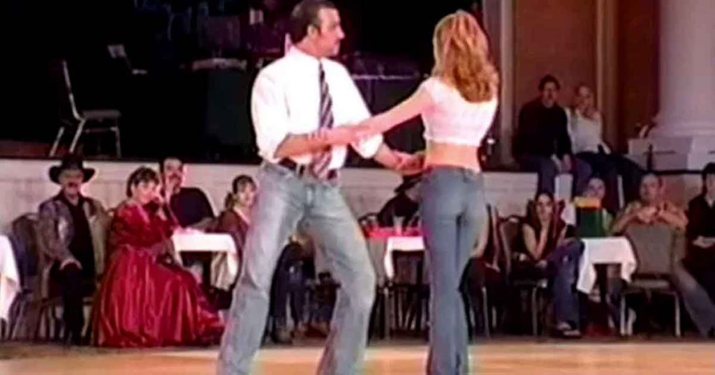 Duo Take To The Stage And Perform A Dance That'll Shake The Nation