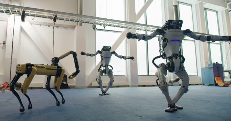 Robotics Company Program Their Robots To Dance In A Spectacular Display Of Music And Technology
