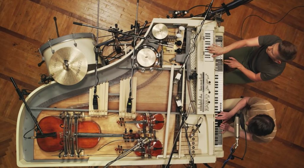 Musicians Restore 100 Year Old Piano And Turn It Into 20 Instrument Work Of Art