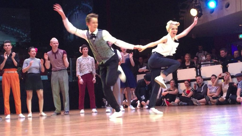 Couples Have Dance Off At A Swing Dance Festival Showcasing Their Brilliant Moves