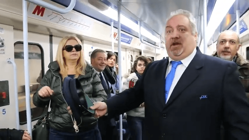 The Beautiful Moment When Opera Singers Took Over An Italian Metro