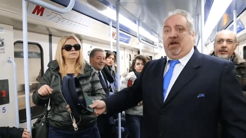 The Beautiful Moment When Opera Singers Took Over An Italian Metro