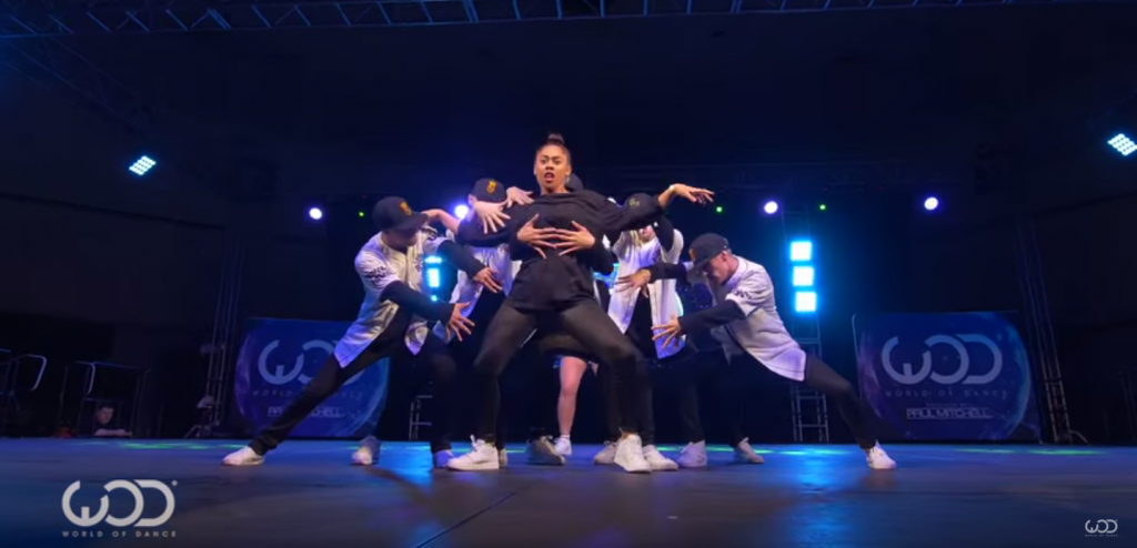 Stunning 10 minutes of choreography genius at World of Dance in Los Angeles