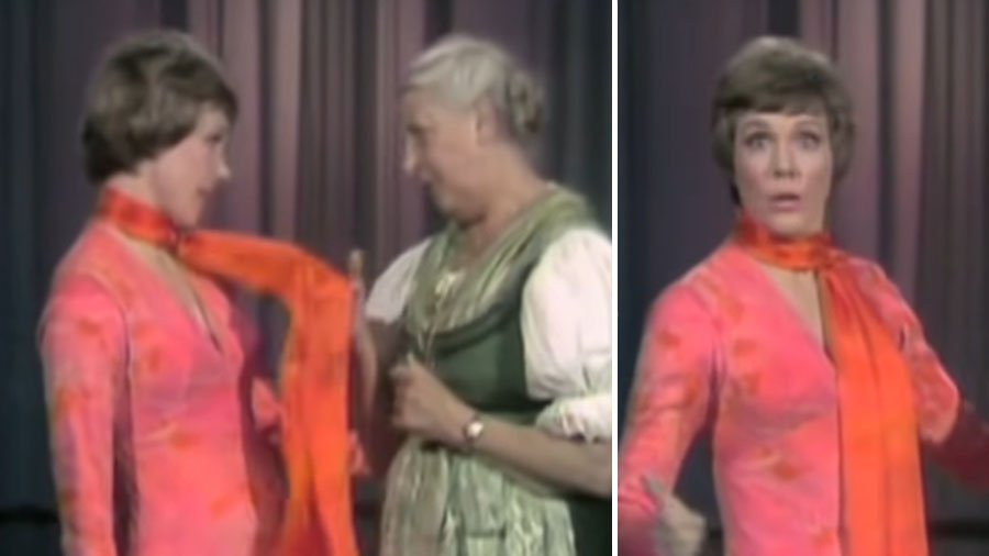 When Real-life Maria Von Trapp Taught Sound Of Music's 'Julie Andrews' How To Yodel