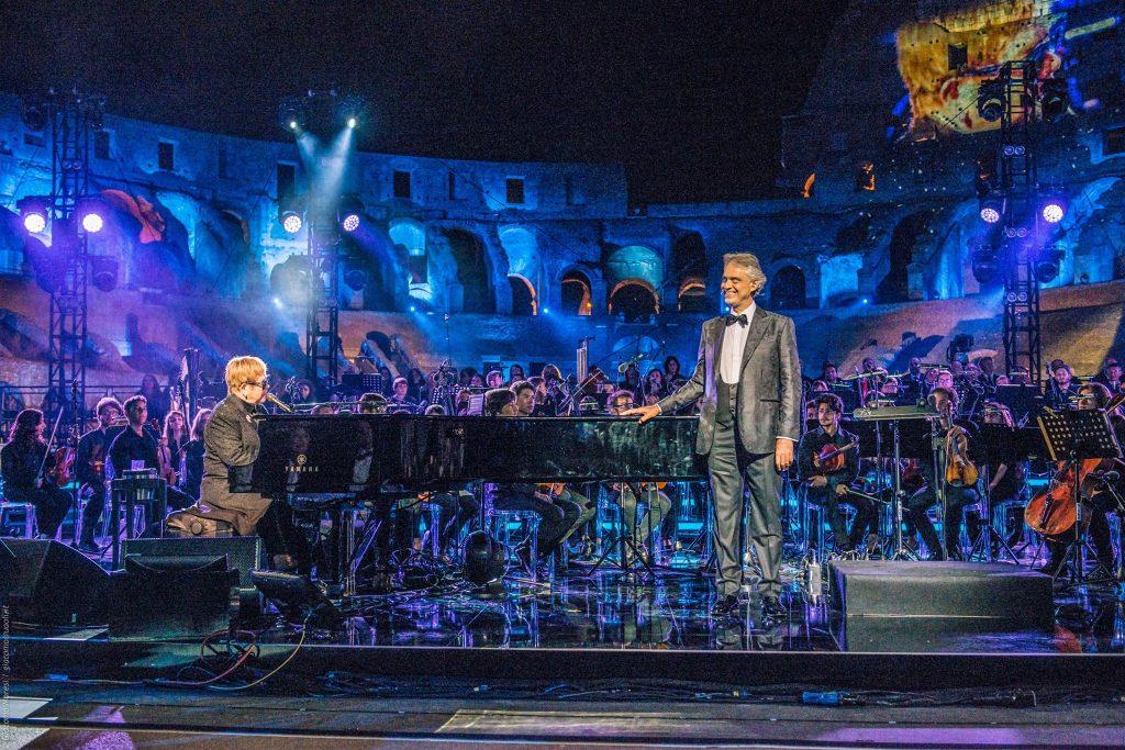 Andrea Bocelli joins Elton John for heart-stirring duet